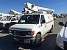 ETI ETT29-SNT, Telescopic Non-Insulated Bucket Van mounted behind cab on 2005 Ford E350 Cargo Van