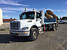 Effer 360/4S, Hydraulic Knuckle Boom Crane rear mounted on 2005 Freightliner M2 112 6x6 Flatbed Truck