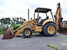 Ford 655E 4X4 Tractor Loader Extendahoe