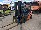 Forklift, s/n 61911, ______, shuttle, with ___ mast height & 48 forks