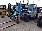 "Gradall 542-3S, 15,000# cap. Pneumatic Tired Telescopic Forklift, s/n 0133345 diesel, shuttle, with 300"" mast height, telescopic boom & 60"" forks, TOTAL WEIGHT= 19,100#"