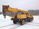 Grove TD-155, Hydraulic Crane mounted on 1972 Grove 6640G 6x6 Carrier