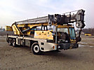 Grove TIS-500E, Hydraulic Crane mounted behind cab on Grove RT528C T/A Carrier