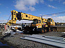 Grove TMS-760, Hydraulic Truck Crane, rear mounted on, 1987 Grove 8x8 Carrier