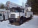 HiRanger 48-PBI, Bucket Truck center mounted on 1997 Ford F800 4x4 Utility Truck