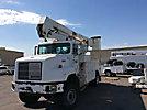 HiRanger 50-OM, Material Handling Bucket Truck, rear mounted on, 2000 International 5000 Utility Truck, No manuals