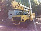 HiRanger 55-OM, Material Handling Bucket Truck rear mounted on 1999 Chevrolet C7500 Utility Truck