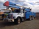 HiRanger 5F-48PBI, Material Handling Bucket Truck center mounted on 2005 International 7400 T/A Utility Truck