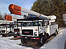 HiRanger 5FB-55, Bucket Truck rear mounted on 1998 GMC C7500 Utility Truck