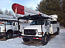 HiRanger 5FB-55, Bucket Truck rear mounted on 2000 Ford F750 Utility Truck