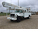 HiRanger 5FC-55, Articulating & Telescopic Bucket Truck, rear mounted on, 2000 GMC C7500 Utility Truck