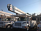 HiRanger 5FC-55, Bucket Truck, rear mounted on, 2001 International 4700 Utility Truck