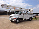 HiRanger 5FC-55, Bucket Truck, rear mounted on, 2002 Sterling Acterra Utility Truck