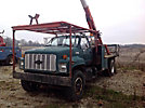HiRanger 5FI-52PHI, Bucket Truck rear mounted on 1991 Chevrolet Kodiak Flatbed/Utility Truck