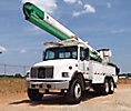 HiRanger 5HI-55PBI, Bucket Truck rear mounted on 2000 Freightliner FL80 T/A Utility Truck