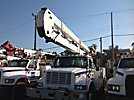 HiRanger 5TC-55, Bucket Truck, rear mounted on, 2001 International 4700 Utility Truck