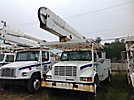 HiRanger 5TC-55, Bucket Truck, rear mounted on, 2002 International 4700 Utility Truck