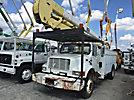 HiRanger 5TC-55, Material Handling Bucket Truck rear mounted on 2001 International 4700 Utility Truck