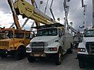 HiRanger 5TC-55, Material Handling Bucket Truck rear mounted on 2004 Sterling Acterra Utility Truck
