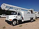 HiRanger 5TC-55MH, Material Handling Bucket Truck, rear mounted on, 1997 International 4900 Utility Truck