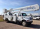 HiRanger 5TC-55MH, Material Handling Bucket Truck, rear mounted on, 1998 International 4700 Utility Truck
