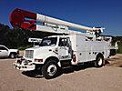 HiRanger 5TC-55MH, Material Handling Bucket Truck, rear mounted on, 1998 International 4900 Utility Truck