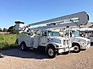 HiRanger 5TC-55MH, Material Handling Bucket Truck, rear mounted on, 1999 International 4700 Utility Truck