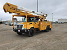HiRanger 5TC-55MH, Material Handling Bucket Truck, rear mounted on, 2003 International 4400 Utility Truck