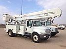 HiRanger 5TC-55MH, Material Handling Bucket Truck, rear mounted on, 2007 International 4300 Utility Truck
