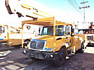 HiRanger 5TC-55MH, Material Handling Bucket Truck rear mounted on 2003 International 4400 Utility Truck