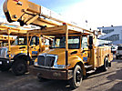 HiRanger 5TC-55MH, Material Handling Bucket Truck rear mounted on 2007 International 4300 Utility Truck