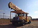 HiRanger 5TC-55MH, Material Handling Bucket rear mounted on 2004 International 4300 Utility Truck