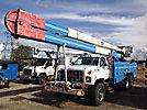 HiRanger 6H-75PBI, Bucket Truck, rear mounted on, 1994 GMC Topkick T/A Utility Truck