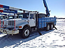 HiRanger 6TC-65, Bucket Truck, rear mounted on, 2001 International 4900 T/A Utility Truck