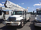 HiRanger HRX-55, Material Handling Bucket Truck, rear mounted on, 2006 International 4300 Utility Truck