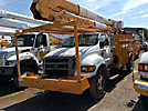 HiRanger HRX55-MH, Material Handling Bucket Truck rear mounted on 2006 Ford F750 Utility Truck