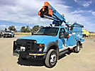 HiRanger LT38, Articulating & Telescopic Bucket Truck, mounted behind cab on, 2008 Ford F550 4x4 Service Truck, No manuals