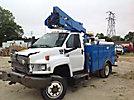 HiRanger LT38, Articulating & Telescopic Bucket Truck, mounted behind cab on, 2008 GMC C5500 4x4 Service Truck