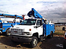 HiRanger LT38, Articulating & Telescopic Bucket Truck, mounted behind cab on, 2008 GMC C5500 4x4 Utility Truck