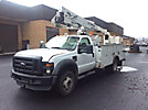 HiRanger LT38, Articulating & Telescopic Bucket Truck, mounted behind cab on, 2009 Ford F550 4x4 Service Truck