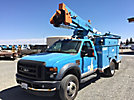 HiRanger LT38, Articulating & Telescopic Bucket Truck mounted behind cab on 2008 Ford F550 Service Truck