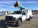HiRanger LT38, Articulating & Telescopic Bucket Truck mounted behind cab on 2010 Ford F550 4x4 Service Truck