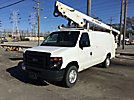 HiRanger NT29, Telescopic Bucket Van mounted on 2009 Ford E350 Cargo Van