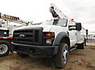 HiRanger T292, Telescopic Insulated Bucket Truck, mounted behind cab on, 2008 Ford F550 Service Truck