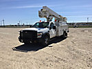 HiRanger TL37-M, Articulating & Telescopic Material Handling Bucket Truck, mounted behind cab on, 2009 Ford F550 Service Truck