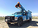 HiRanger TL38, Articulating & Telescopic Bucket Truck, mounted behind cab on, 2008 Ford F550 4x4 Service Truck