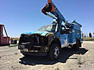 HiRanger TL38, Articulating & Telescopic Bucket Truck, mounted behind cab on, 2008 Ford F550 4x4 Utility Truck