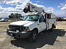 HiRanger TL38, Articulating & Telescopic Bucket Truck mounted behind cab on 2004 Ford F550 4x4 Service Truck