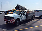 HiRanger TL38-P, Articulating & Telescopic Bucket Truck, mounted behind cab on, 2003 Ford F550 4x4 Service Truck