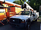 HiRanger TL38-P, Articulating & Telescopic Bucket Truck, mounted behind cab on, 2007 Ford F550 Service Truck
